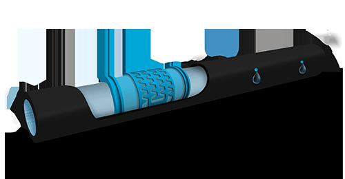 3d Dual e Mini tubo per irrigazione a goccia rigido